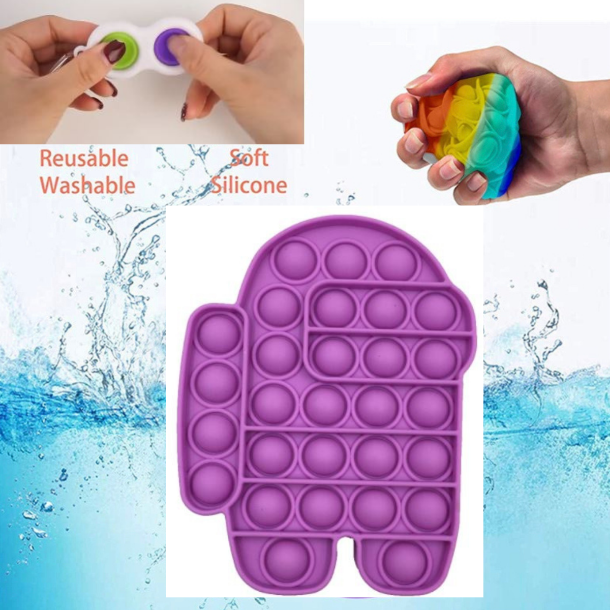 push pop fidget toys, sensory toys